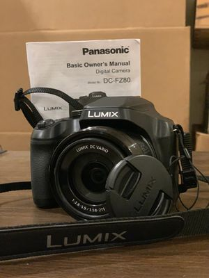 4K Digital Camera - PANASONIC LUMIX for Sale in Piedmont, CA