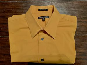 Express men's dress yellow shirt for Sale in Fort Worth, TX