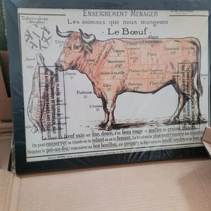 Cow Beef Diagram Picture for Sale in Watertown, CT