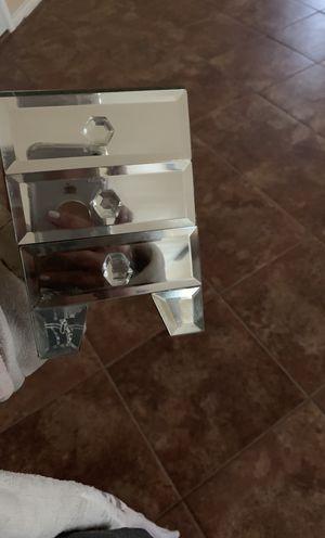 3 drawer mirror jewelry box for Sale in Abilene, TX