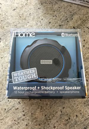 iHome Weather Tough Bluetooth Speaker for Sale in Chicago, IL