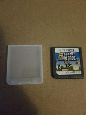 Super Mario Bros DS Game _ Read Description for Sale in Garfield, NJ