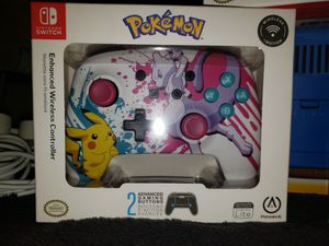 Pokemon Enhanced Wireless Controller for Nintendo Switch for Sale in Pumpkin Center, CA
