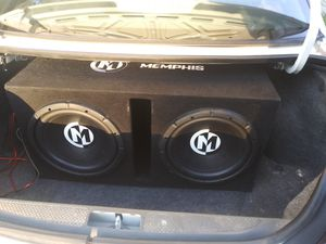 12 inch memphis subs for Sale in Sugar Creek, MO