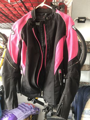 Ladies Joe Rocket motorcycle jacket size Large for Sale in Merritt Island, FL