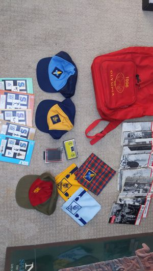 Assorted Boy, Cub, Webelos Scouts Items for Sale in Washington, DC