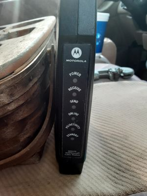 Motorola modem for Sale in Madison, MS