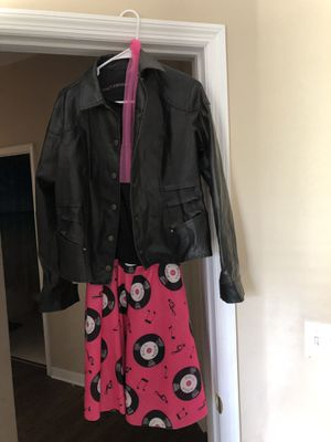 """Costume """"50s girl with leather jacket for Sale in Gibsonton, FL"""