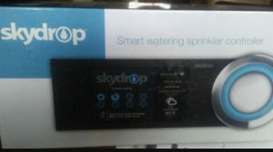 New In the Box skydrop 8 station Wi-Fi smart watering sprinkler controller with rain sensor reg 249.00 + tax for Sale in Del Valle, TX