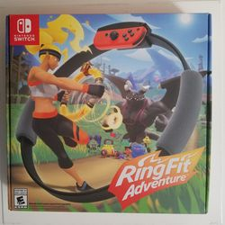 Ring Fit Adventure for Nintendo Switch for Sale in Silver Spring,  MD