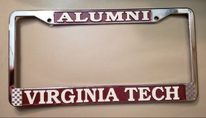 VIRGINIA TECH ALUMNI License Plate holder for Sale in Woodridge, IL