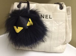 Fendi Monster Furry Pom Keychain Bag Charm for Sale in Las Vegas, NV