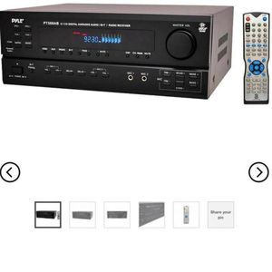 Pyle Pt588ab 5.1 Ch Home Theater Am Fm Receiver & Amplifier W/ Bluetooth for Sale in Plainview, NY