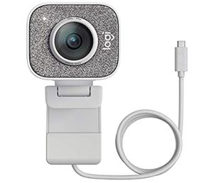 Logitech StreamCam, 1080P HD 60fps Streaming Webcam with USB-C and Built-in Microphone, White for Sale in Boston, MA