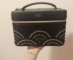 Victorias Secret Vanity Case Makeup Bag Black Petal Edge - Limited Edition for Sale in Mercer Island, WA