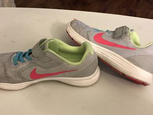 Girl's Size 3 Nike Shoes - Great Condition for Sale in Los Angeles, CA