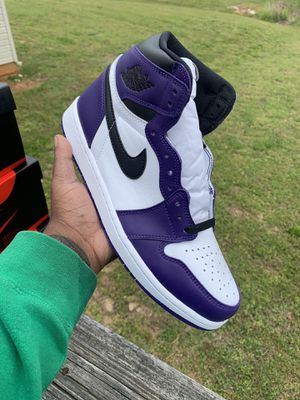 "Air Jordan 1 ""Court Purple"" for Sale in Nashville, TN"