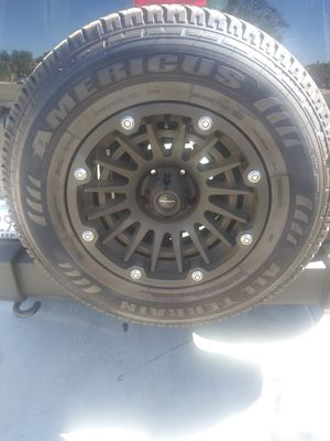 5 wheels and tires for jeep for Sale in Bloomington, CA