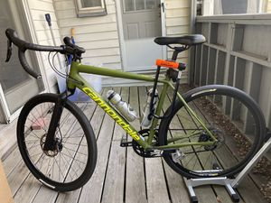Cannondale Slate 105 Endurance Gravel Bike w/ accessories (Large) for Sale in Cambridge, MA