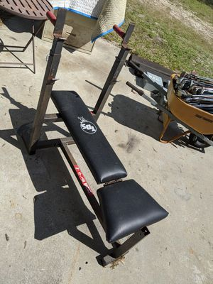 Gold Gym TDS Bench Press for Sale in Cape Coral, FL