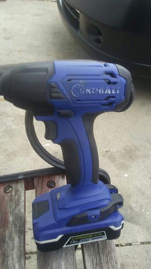 Kobalt 18v drill impact with batterie no charger for Sale in Montclair, CA