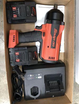 """**BRAND NEW** 18V 1/2"""" Brushless Cordless Impact Wrench Kit CT9075 for Sale in Trenton, NJ"""