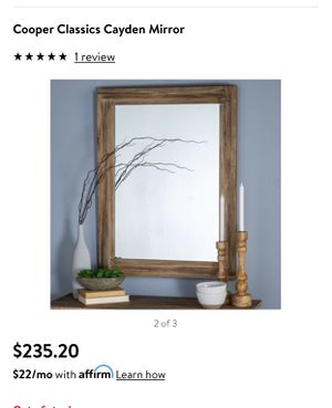 Mirror 40x30 for Sale in Grove City, OH