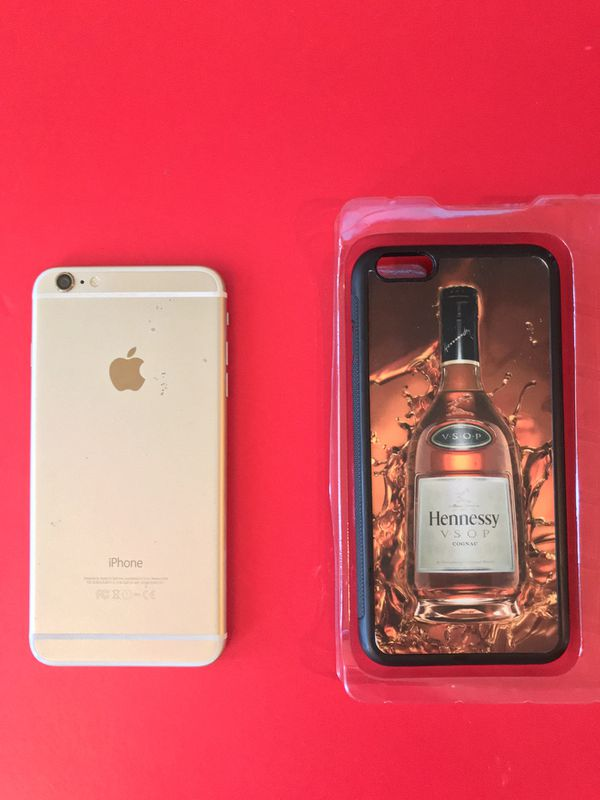 16GB IPhone 6 Plus T-Mobile with brand new Hennessy case