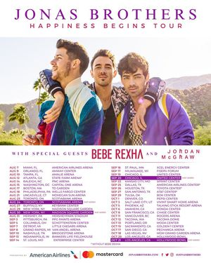Jonas Brothers Tickets - Nashville (x3) for Sale in Nashville, TN