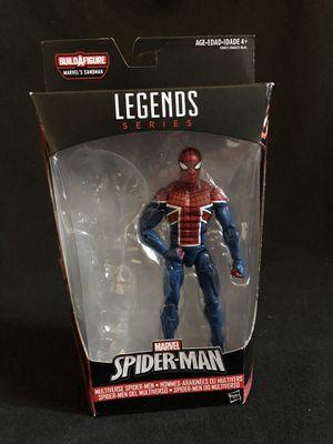 Marvel Legends Spider-Man UK Sandman NO BAF for Sale in Alhambra, CA