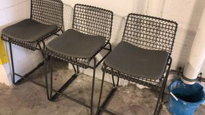 Kitchen Chairs counter for Sale in SUNNY ISL BCH, FL