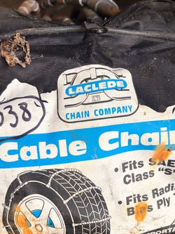 Laclede Cable Tire Chains for Sale in Portland,  OR