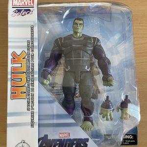 Avengers Endgame Marvel Select Hulk Action Figure for Sale in Merced, CA