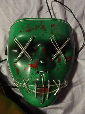 Purge mask lights up NEED GONE ASAP for Sale in Gaithersburg, MD