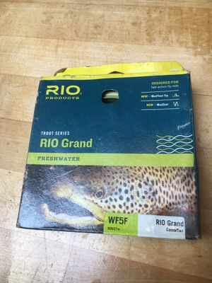 NEW Rio Grand Fly Line WF5F for Sale in Seattle, WA