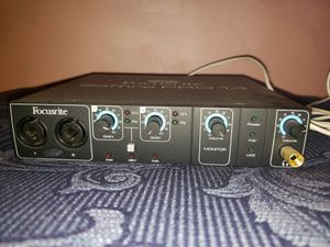 Focusrite Saffire Pro 14 Audio Interface 8 in / 6 out. 2 Mic Pres. Firewire for Sale in San Diego, CA