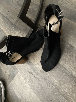 Brand new open toed booties for Sale in Salt Lake City, UT