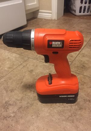 Drill (Black and decker 18volt cordless drill) for Sale in Orange, TX