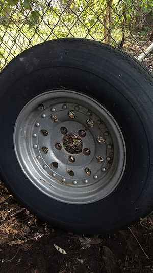 Trailer tires and wheels for Sale in Madison Heights, MI