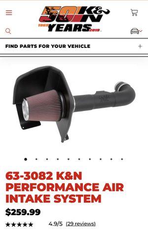 K&N Cold Air Intake for Sale in Santa Ana, CA