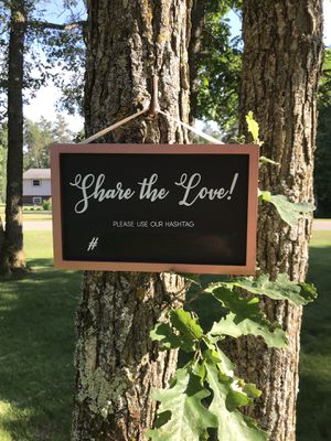Share the love # Sign for Sale in Pine River, MN