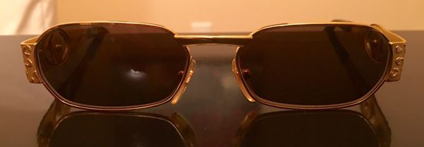 432815b4c1 Vintage Versace Collection Gold Medusa Unisex Sunglasses for Sale in ...