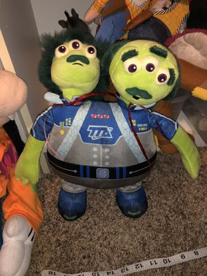 Monsters Inc TTA security plush alien doll / Disney / Pixar for Sale in Phoenix, AZ