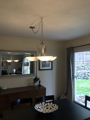 Swag Chandelier/Light Fixture for Sale in Tacoma, WA