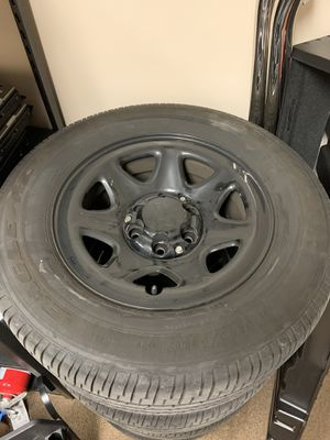 Chevrolet rims and tires for Sale in Winterville, NC