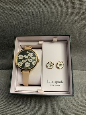 NEW! Kate Spade Watch with matching Earrings for Women for Sale in Canton, MA