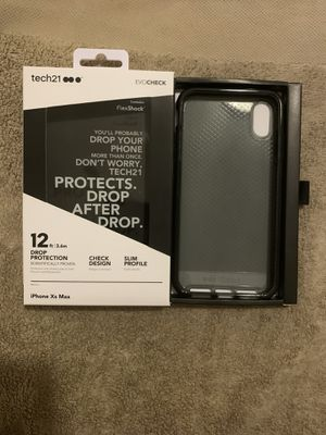 Tech21 EvoCHECK case for iPhone Xs Max in original package for Sale in Chicago, IL