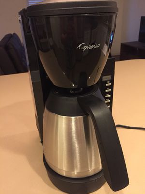 Capresso 10-Cup Thermal Carafe Coffee Maker for Sale in Irvine, CA