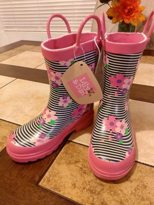 Lily &Dan little Girl Rain Boots for Sale in El Monte, CA