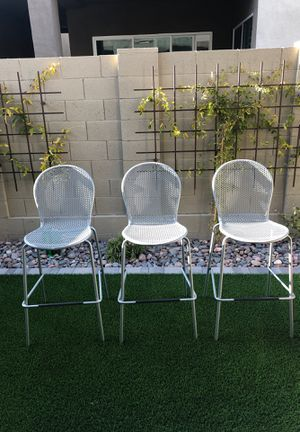 3 Outdoor Smith & Hawken Barstools - Patio Furniture for Sale in Scottsdale, AZ